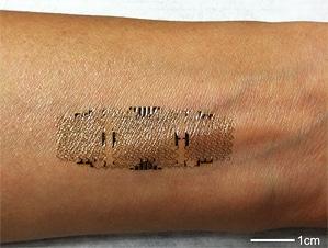 Epidermal Electronics - Health Monitoring Skin 4