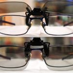 LG AG-F220 passive clip-on 3D glasses are the three dimensional bee's knees 8