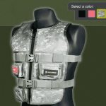 Tactical Gaming Vest Lets You Feel The Hits 1
