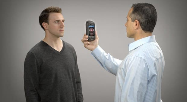 AOptix Stratus iPhone Add-on is a Biometric Identity Scanner 10