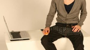 Beauty and the Geek - Jeans With a Built In Keyboard 13