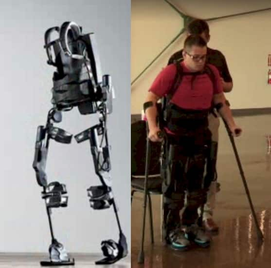 Ekso Bionics robotic suit will help the paralyzed walk again 9