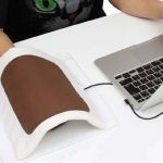 This heated mousepad keeps your mouse moving and your hands warm 2