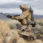 Human Universal Load Carrier, or HULC, is a wearable exoskeleton for soldiers 1