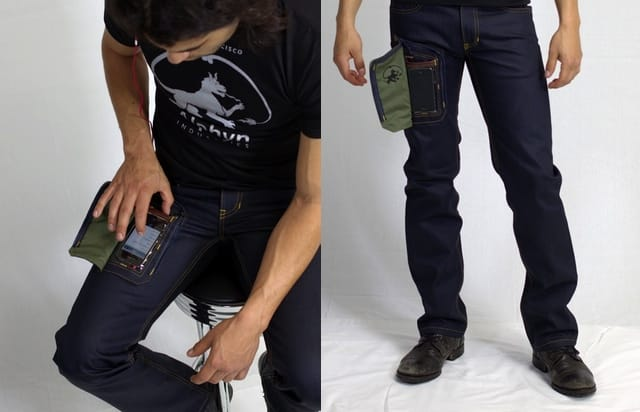 Alphyn Industries presents jeans with a special iPhone pocket, swiping ensues 6