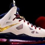 LeBron X basketball shoes use Nike+ technology to measure your leaping distance 8