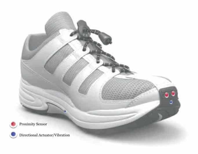 Le Chal Haptic Shoe for the Blind 3
