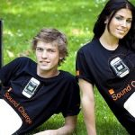Orange UK's Sound Charge T-shirt uses sound to charge your phone 1