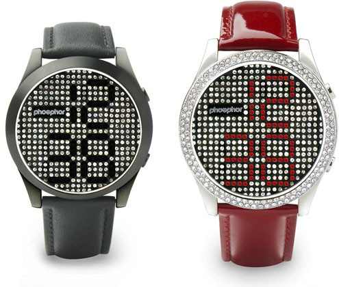 Phosphor's Reveal wristwatch is filled with Swarovski crystals 10