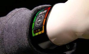 Plastic Logic Prototypes Super Thin Smartwatch 8