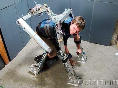Ugobe Pleo motion capture exoskeleton prototype for sale: $2,400 OBO 10