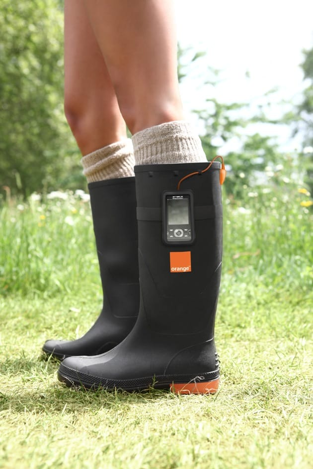 Gotwind Orange Power Wellies 5