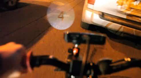 Rasberry Bike Lamp