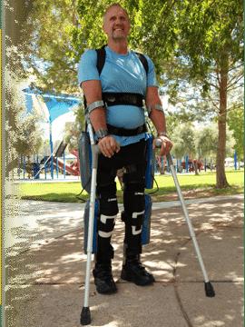 Argo Medical's ReWalk Rehabilitation Exoskeleton will get you there 7