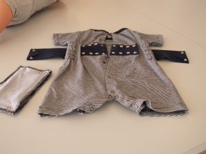 Researchers develop sensor-enabled baby romper that prevents SIDS 10
