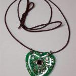 SenseBridge Heart Spark pendant blinks when your heart beats 1