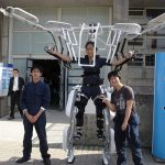 Skeletonics exoskeleton shown off in demonstration video 1