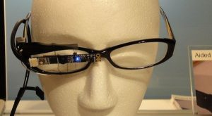 """Sony shows off eye-tracking glasses designed for """"life logging"""" 14"""