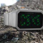 Tokyoflash Kisai Adjust watch tells time via trippy triangles 3